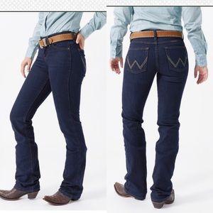 Wrangler Q Baby Dark Dynasty Riding Jeans